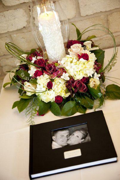 wedding flower table arrangement in green bay wi