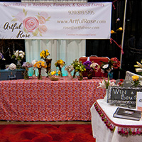 Wedding Show Stand in Green Bay, WI