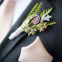 Wedding Boutonniere in Green Bay, WI