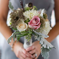 Bridesmaid Flower Bouquet in Green Bay, WI